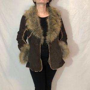 Authentic Wilson genuine leather jacket